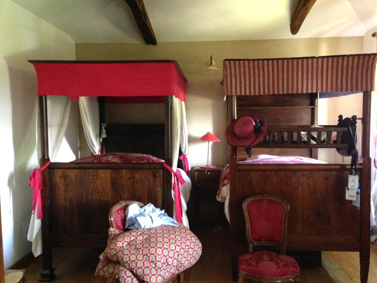Lits chambre